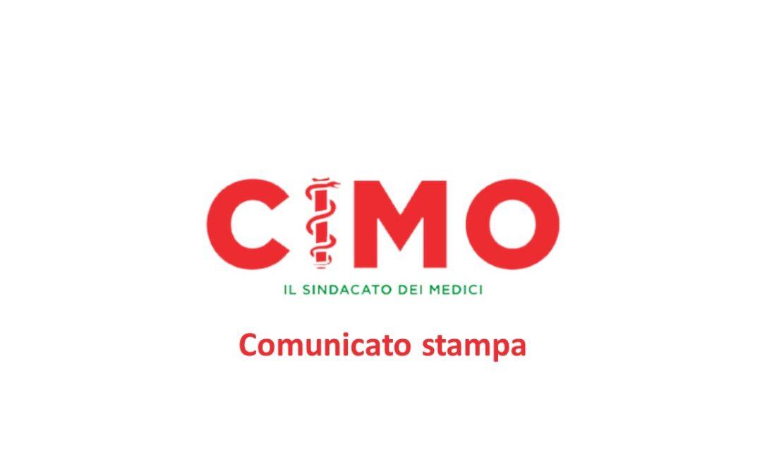 Comunicato stampa CIMO-FESMED