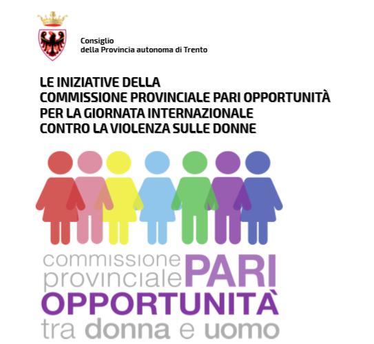 Iniziative della Commissione provinciale Pari Opportunità per la Giornata internazionale contro la violenza sulle donne