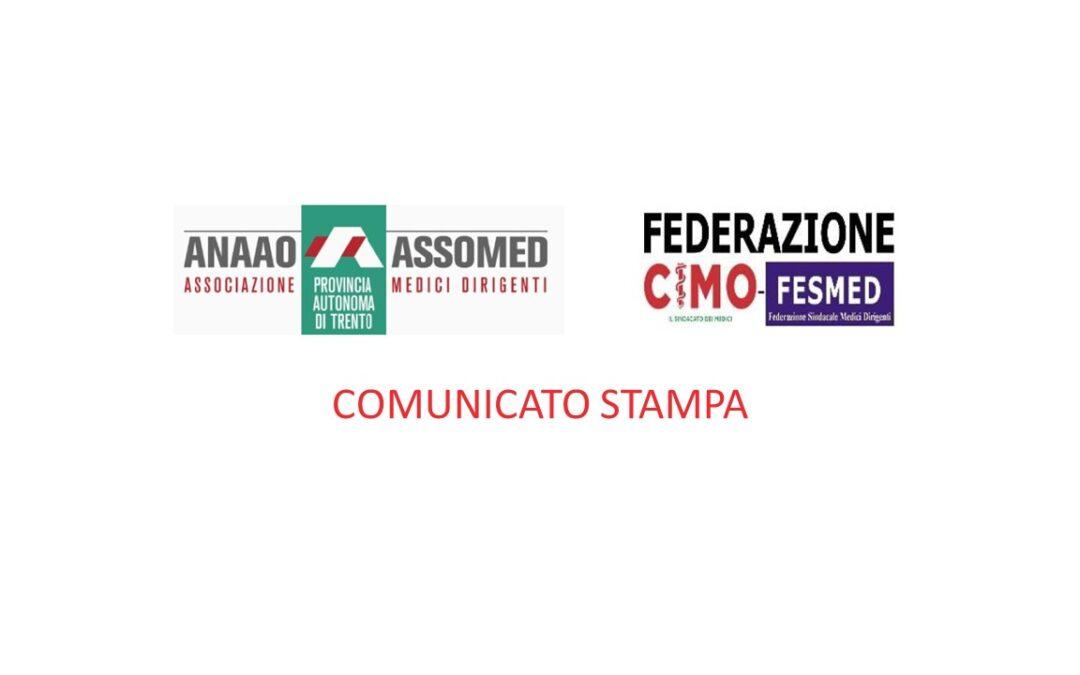 Comunicato Stampa congiunto CIMO-ANAAO provincia di Trento 25 luglio 2021