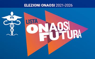 """Elezioni ONAOSI 2021. vota e fai votare la lista n. 1 """"ONAOSI FUTURA"""""""